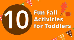 10 fall activities for toddlers babble