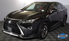 lexus of bellevue certified pre owned 2016 lexus rx f sport in washington for sale 16 used cars from