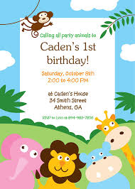 items similar to printable jungle theme birthday or baby shower