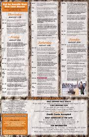 Woodsman Market Woodsmen Field Days Schedule Of Events