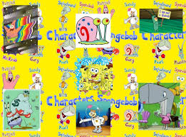 the characters in spongebob squarepants were created by artist