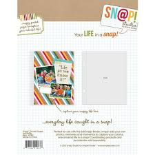 6x8 page protectors simple stories snap studio 6 x 8 page protectors 10 pack