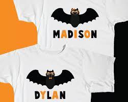 Boys Halloween Shirt by Cool Customized Bat Shirt 2017 Halloween Store Costume Ideas