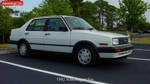 volkswagen fox 1989 1992 volkswagen fox youtube