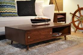 Diy Reclaimed Wood Side Table by Coffee Table Mid Century Modern Coffee Tables Furniture Mid