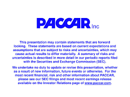 paccar canada paccar inc 2017 q1 results earnings call slides paccar inc