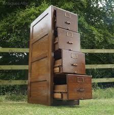 solid oak filing cabinet c1920s art deco solid oak filing cabinet antiques atlas