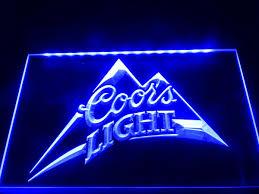 coors light bar sign la004b coors light beer bar pub logo neon light sign bar signs open