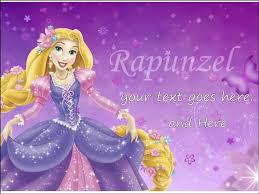 rapunzel cake topper personalised edible icing cake topper decoration rapunzel
