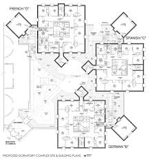 dormitory floor plans college dormitory complex anne niedrach haffner proposed dorm site