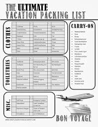 Packing List Template Excel Best 25 Packing List Template Ideas On Travel Packing