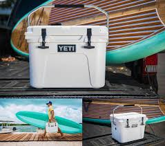 black and turquoise jeep roadie 20 cooler yeti