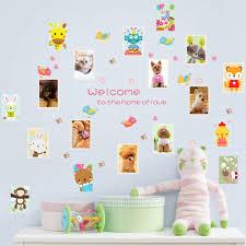 Nursery Monkey Wall Decals Online Get Cheap Wall Decals Nursery Rabbit Aliexpress Com