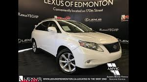 lexus rx los angeles used white 2010 lexus rx 350 ultra premium package in depth review