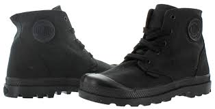 zipper boots s palladium pa hi zipper kid boy s canvas boots ebay