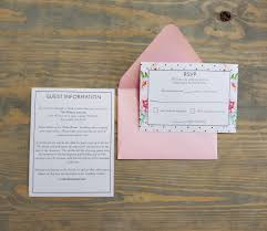 What Does Rsvp Stand For On Invitation Cards Pink Peonies And Polka Dot Wedding Invitation Raspberry Creative