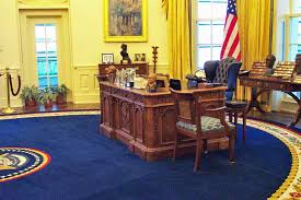 Oval Office Desk Inside Of Oval Office Recreation