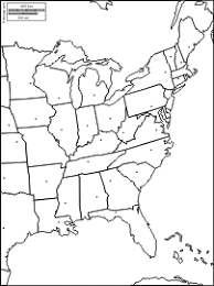 map of us states empty east coast of the united states free maps free blank maps free