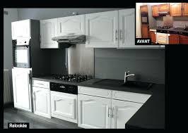 comment repeindre des meubles de cuisine peinture meuble cuisine chene relooking cuisine ateliers renard