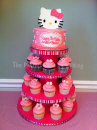 hello kitty cake and cupcakes cakecentral com