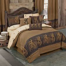 oak tree buckmark comforter set full size lodge bedding
