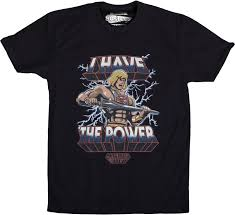 he man shirt buy he man and the masters of the universe shirts