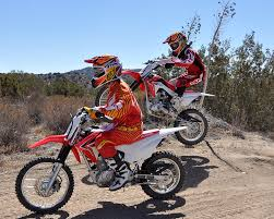 2014 honda crf 125f u0026 125fb dirt bike test