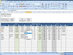 Income Tracker Spreadsheet Property Managers Template Rent Income And Expense Tracking