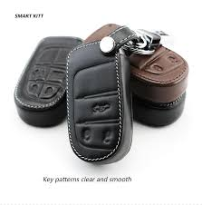 jeep grand 2014 accessories genuine leather car key cover key for dodge journey jcuv ram