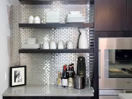 Metallic Kitchen Backsplash by Kitchen Backsplash Ideas To Decorate Your Kitchen