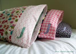 diy custom pillowcases averie diy custom pillowcases