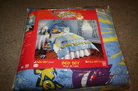 springs home vintage 1998 nintendo pokemon twin comforter sheet