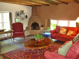 adobe style home stay at mabel dodge luhan house
