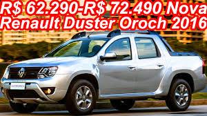renault duster oroch trailer r 62 290 r 72 490 nova renault duster oroch 2016 110 cv