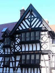 tudor style homes with faux planks faux wood workshop