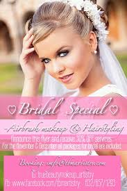 wedding makeup packages bridal special mention this flyer and yelp and you will receive