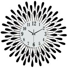 Wall Clock Modern Tinksky Wall Clock Modern Living Room Clock Diamante Mute Easy To