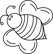 fat bumble bee coloring pages place color