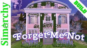 the sims 4 speed build forget me not flower shop victorian tiny