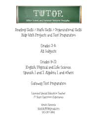 Sample Resume For Tutors by Tutoring Flyer Google Search Learning Pinterest Tutoring