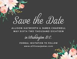 save the date announcements save the date cards match your colors style free basic invite