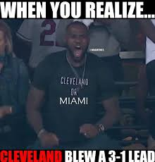 Cleveland Meme - twitter comes out to roast indians fans with memes after they lose