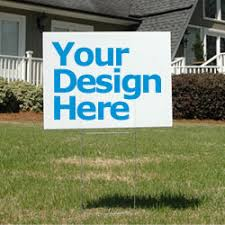 4 reasons to use yard signs to advertise your small business