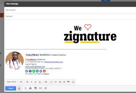 try zignature for unique email signatures welovezignature
