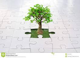jigsaw puzzle tree royalty free stock images image 35510449