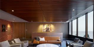Wood Slat Ceiling System by Ceiling Panels