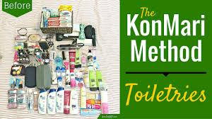 Chic Toiletries The Konmari Method Toiletries Round 2 Youtube