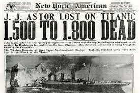 hidden history futility the wreck of the titan the 1898 benjamin guggenheim isador strauss the head of macy s department stores and john jacob astor probably the wealthiest man in the world were all killed