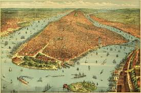 City Map Of New Orleans by Bibliodyssey Bird U0027s Eye New York
