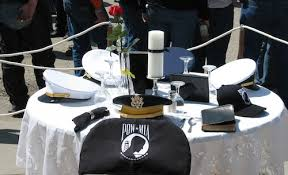 army fallen comrade table script air force removes pow mia missing man table because it includes a